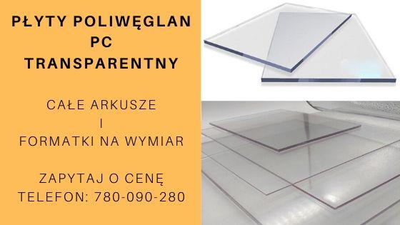 płyty poliwęglan PC