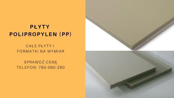 płyty polipropylen