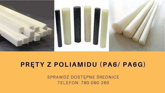 pręty z poliamidu