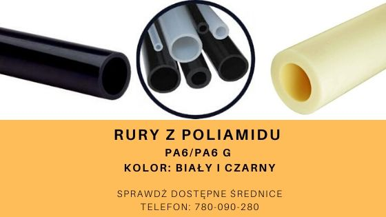 rury z poliamidu