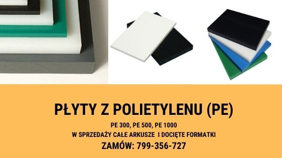 płyty z polietylenu